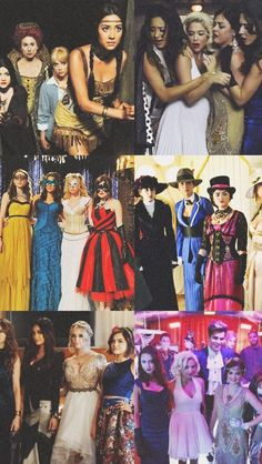 All there dress-up scenes were bomb. If your a PLL fan save this to your pin showing your appreciation for the shows creations. Pretty Little Liars Meme, Pretty Little Liars Spencer, Hanna Marin, Spencer And Toby, Pll Memes, Lady Sybil, Dramas, Netflix, Movies Showing