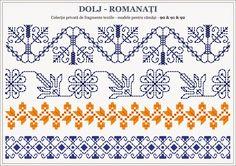 Semne Cusute: Romanian traditional motifs - OLTENIA; Dolj - Roma...