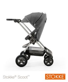 Stokke® Scoot V2 - Black Melange
