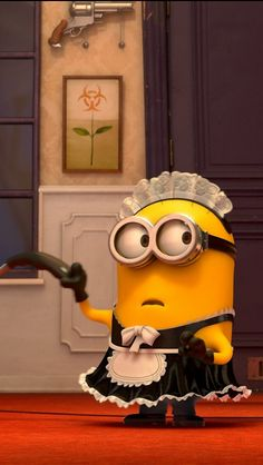 Cute Minion from Despicable Me 2 iPhone 5 wallpapers 640x1136 (07)