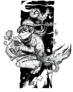 Nub Begley #character #book #goodread #artwork #drawing