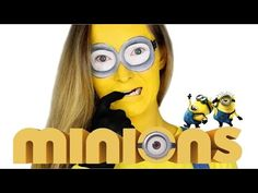 MUST SEE -  Despicable Me Minion Makeup Tutorial