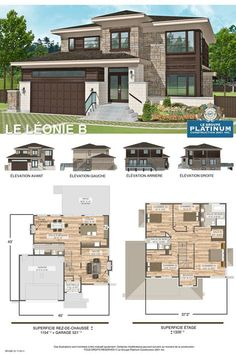 Home sweet Home! Sims House Plans, Dream House Plans, Modern House Plans, Modern House Design, House Floor Plans, Architectural Design House Plans, Home Design Floor Plans, Villa Plan, House Blueprints