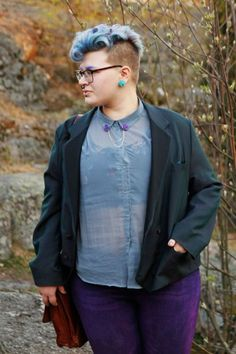 9 Plus Size Cuties Share Tips For Androgynous Style
