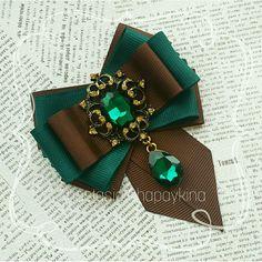 Брошь-галстук ' Chocolate &#39