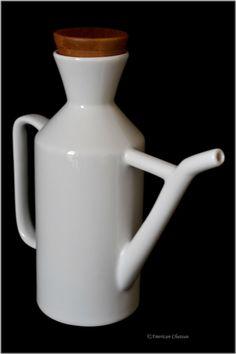 12 oz Large Vintage Milk Can Ceramic Oil Cruet Dispenser Bottle: Amazon.ca: Home & Kitchen