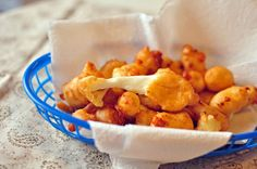These Beer Battered Cheese Curds will blow your mind. They are the best appetizer for watching football or hanging out with friends.