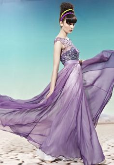 Pueple Strapless Transparent Evening Prom Dress Formal Ball Gown