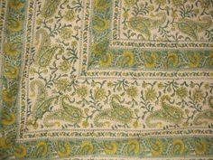 Rajasthan Block Print Paisley Tapestry-Coverlet-Spread HOMESTEAD http://www.amazon.com/dp/B001J5602W/ref=cm_sw_r_pi_dp_uE1qwb0Y5CR09