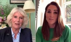 Kate Middleton makes special promise as she joins Duchess of Cornwall on video call | HELLO! Duchess Of Cornwall, Duchess Of Cambridge, Celebrity Couples, Celebrity News, The Duchess, Royal Uk, Camilla Parker Bowles, Grace Kelly, British Royals
