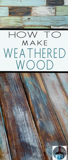 There are several ways to achieve the beautiful weathered wood look, here are 8 techniques that deliver the best results. furniture before and after furniture diy furniture distressed furniture whimsical