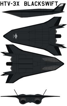 Lockheed HTV 3X Blackswift