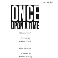 "Adam Horowitz on Twitter: ""Okay, #Oncers -- here's another #OnceUponATime…"