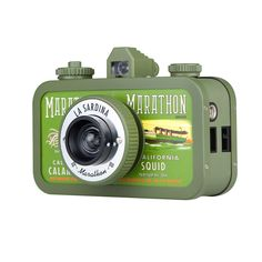 Lomography La Sardina Marathon Camera - Give to the Cause of Your Choice Cute Camera, Retro Camera, Passion Photography, Photography Camera, Old Cameras, Vintage Cameras, Camera Gear, Film Camera, 35mm Film