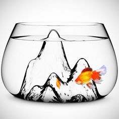 Finally a reason to have goldfish     Fancy - Glasscape Fishbowl by Aruliden