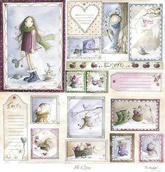 . Baby Scrapbook, Scrapbook Paper Crafts, Disney Silhouettes, Project Life Cards, Kids Artwork, Christmas Scenes, Journal Cards, Paper Dolls, Paper Art