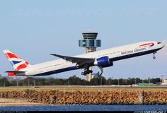 British AIrways G-STBF Boeing 777-336/ER aircraft picture