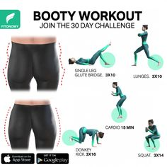 If there is one thing that Fit Girls like to work on, it's the booty! Some people have the lucky genes of growing the perfect butt very quickly, while some have to work just a little bit harder. But, if you train hard enough with the right workouts from FitonomyApp it's easily possible to reach it. Give it a go-to these exercises that are designed to target your hip dips and you will train your glutes muscles in order to get a bigger, lifted, and rounded booty shape. #bootyworkout…