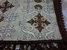 Cross Stitching, Cross Stitch Embroidery, Hand Embroidery, Cross Stitch Patterns, Needlepoint Patterns, Embroidery Patterns, Knitting Patterns, Geometric Patterns, Bohemian Rug