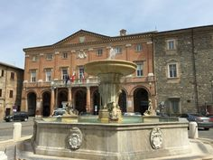 Fountain in Piazza Enrico Mattei, Matelica   3 Most Beautiful Villages in Le Marche   BrowsingItaly