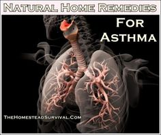The Homestead Survival | Natural Home Remedies For Asthma | Alternative Health http://thehomesteadsurvival.com