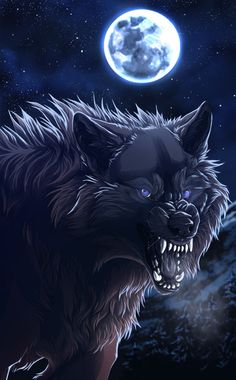 ☆ Black in Night :¦: Art By WolfRoad ☆