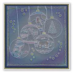 Jayne Nestorenko's Winter Scene - Sled Groovi Plate A4 Square – Claritystamp