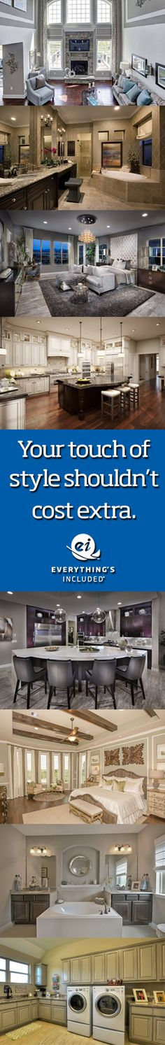 Lennar's Everything's Included approach is both radical and simple–all the add-ons and extras a homebuyer could want, simply included and at the best possible value.