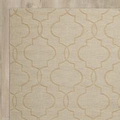 Varick Gallery Villegas Hand-Woven Ivory Area Rug & Reviews | Wayfair
