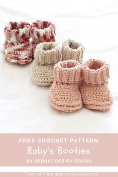 crochet baby shoes Here you can find 10 free baby crochet patterns. Need some adorable gift ideas for a baby shower? All patterns in this roundup are free to use! Crochet Gifts, Easy Crochet, Free Crochet, Kids Crochet, Crochet Baby Shoes, Crochet Baby Booties, Baby Patterns, Crochet Patterns, Crochet Baby Blanket Beginner