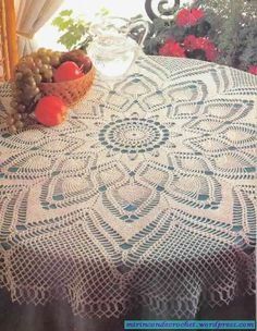 Tablecloth #crochet