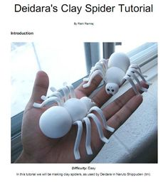 Naruto: Clay spider tutorial by RishiRamraj on deviantART