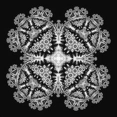 Image result for fractal snowflake