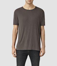 Men's Linver Crew T-Shirt (Olive Green) -