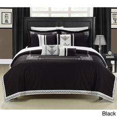 This lavish comforter set comes with everything you need to do a complete makeover for your master or guest suite. Detail Embroidery highlight the true essence of look you are trying to achieve in elegant home decor. Elegant Home Decor, Stylish Home Decor, Elegant Interior Design, Elegant Homes, Small Room Interior, Minimalist Home Decor, Stylish Interior Design, Interior Design Bedroom, Elegant Decor