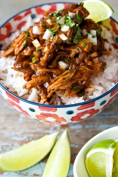 Pulled Pork al Pastor? Yum! I desperately want to put this on a street taco with some grilled pineapple salsa and cotija cheese...