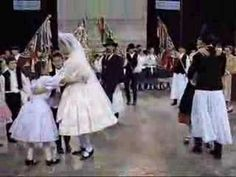 Mennyasszony tánc. Traditional Hungarian bride dance