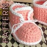 Free Crochet Baby Bootie Patterns | Pattern Crochet baby booties vintage inspired...