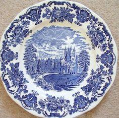 Wedgwood,England,blue and white,porcelain-china plate-dish | eBay