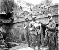 Les villages de l'Aisne autour de Soissons après leur reconquête par les alliés. – ECPAD