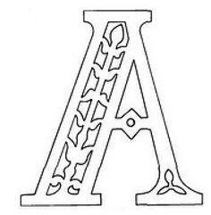 Русский алфавит - вытынанка. Обсуждение на LiveInternet - Российский Сервис Онлайн-Дневников