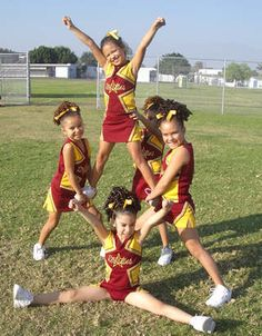 Youth stunt Youth stunt More from my site Super Easy Cheer Bows Youth Cheerleading Pyramids Easy Cheerleading Stunts, Cheerleading Cheers, Football Cheer, Cheer Camp, Cheer Coaches, Team Cheer, Cheer Dance Routines, Cheer Practice, Kids Cheering