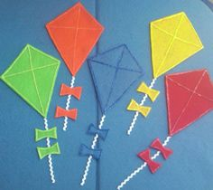 *Great for Reading along with a book or making your own story*  kites