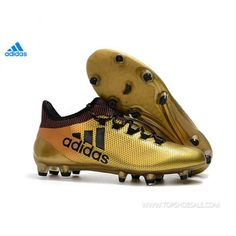 new concept 8f0b2 c9a4a 2018 FIFA World Cup adidas X 17.1 FG BB6353 Tactile Gold Metallic Core  Black Solar Red Football shoes