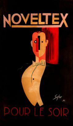 Noveltex poster by Sepo (Severo Pozzati) | Flickr - Photo Sharing!