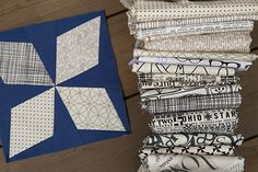 Arkansas Traveler by Fresh Lemons Quilts : Faith  Love the black and white print combo