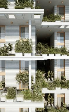Gallery of Penda Designs Sky Villas with Vertical Gardens for Hyderabad - 22