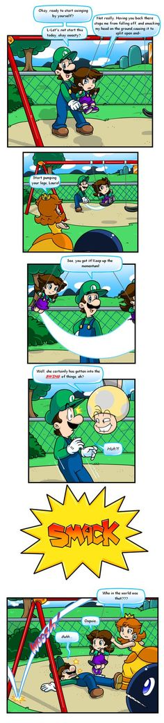 Pun at the Park by Nintendrawer on DeviantArt