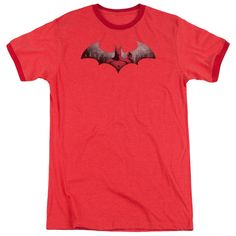 """Checkout our #LicensedGear products FREE SHIPPING + 10% OFF Coupon Code """"Official"""" Arkham City / In The City - Adult Heather Ringer - Arkham City / In The City - Adult Heather Ringer - Price: $34.99. Buy now at https://officiallylicensedgear.com/arkham-city-in-the-city-adult-heather-ringer"""