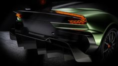 The Aston Martin Vulcan is the name of the loudest, fastest, most extreme Aston sports car in history. View Aston Martin Vulcan photos right here. Aston Martin Vulcan, New Aston Martin, Aston Martin Vanquish, Mclaren P1, Aston Martin Sports Car, Ferrari, Geneva Motor Show, Weird Cars, Tail Light